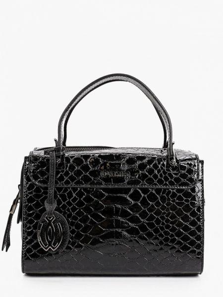 Кожаная сумка с ручками черная Vostro