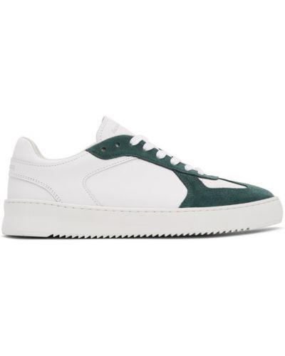 Ażurowy biały sneakersy okrągły nos zasznurować Filling Pieces