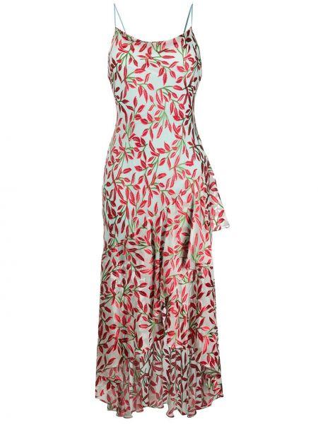 Платье миди с открытой спиной на бретелях Alice+olivia