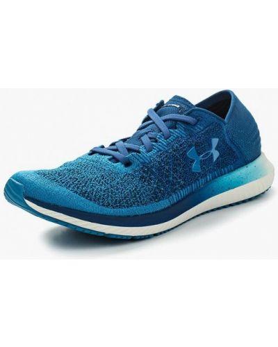 Синие кроссовки низкие Under Armour