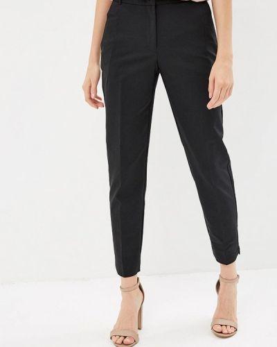 Черные брюки с завышенной талией Zarina