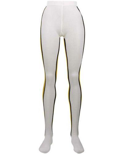 Белые леггинсы эластичные Calvin Klein 205w39nyc