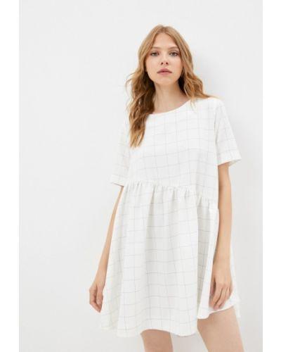 Прямое платье - белое Gk Moscow