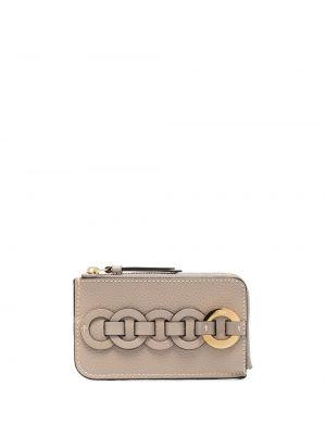 Skórzany portfel na monety Chloe