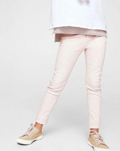 Розовые джинсы Mango Kids