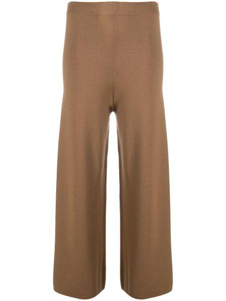 С завышенной талией коричневые брюки с поясом D.exterior