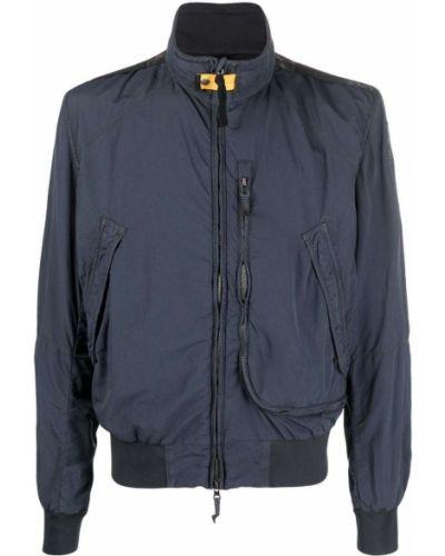 Синяя весенняя куртка Parajumpers