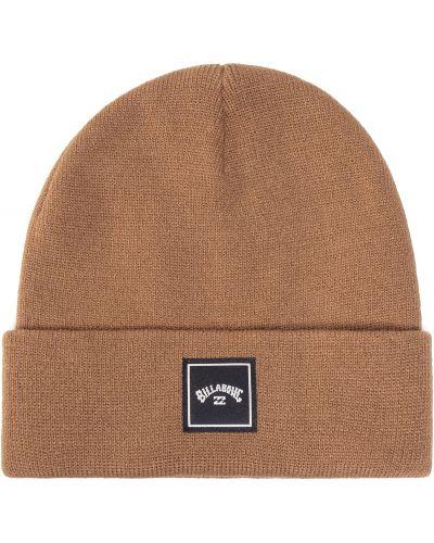 Brązowa czapka z akrylu Billabong