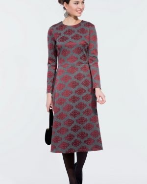Платье на молнии из вискозы Lautus