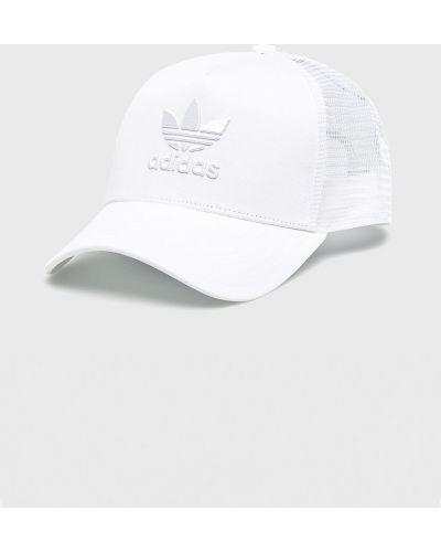Белая шапка хлопковая Adidas Originals
