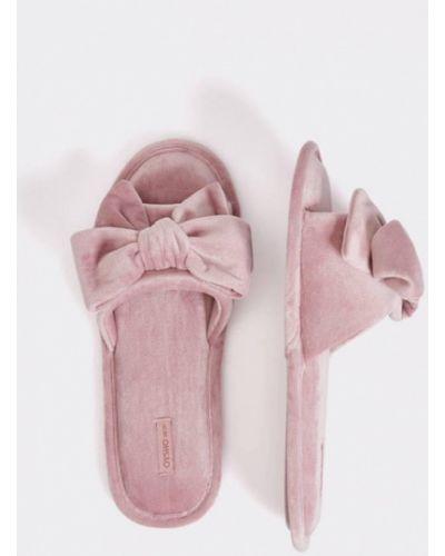 Домашние тапочки розовый Oysho