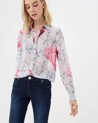 Серая блузка с длинным рукавом Ted Baker London