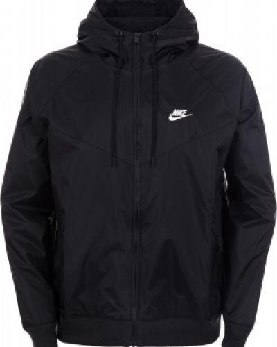 Спортивная куртка с капюшоном черный Nike