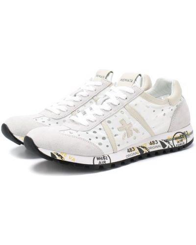 Кроссовки белый с подкладкой Premiata
