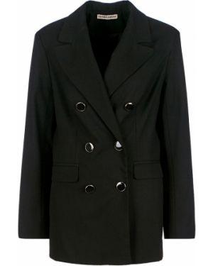 Пиджак черный двубортный Victoria Kuksina