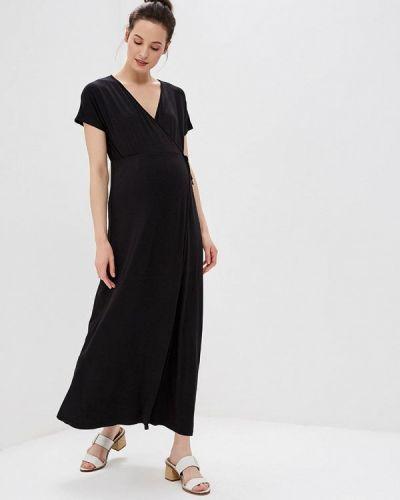 Платье с запахом черное наше