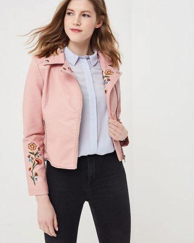 Розовая куртка весенняя Fresh Cotton