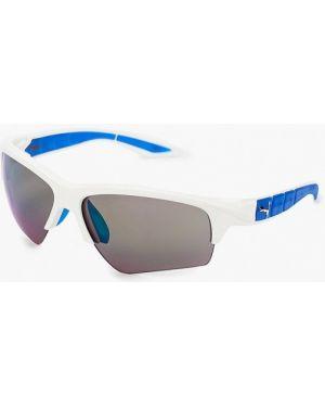 Муслиновые белые солнцезащитные очки Puma