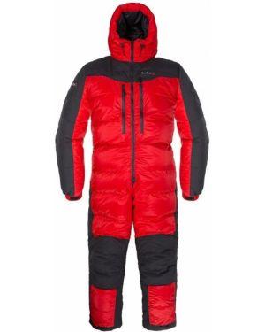 Спортивный пуховый комбинезон с карманами на молнии Red Fox