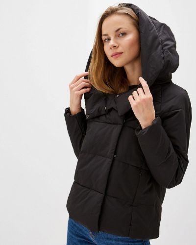 Зимняя куртка утепленная черная Only