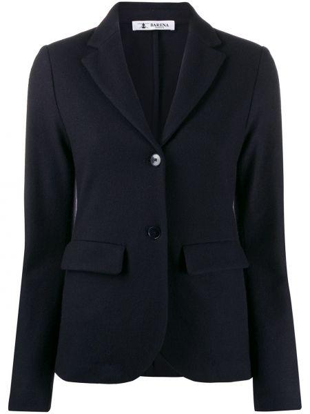 Темно-синяя длинная куртка Barena