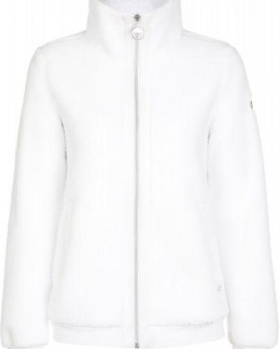 Белый джемпер на молнии с капюшоном Luhta