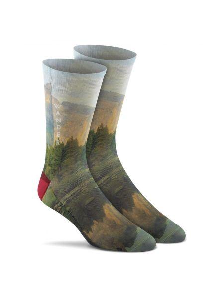 Спортивные носки - зеленые Foxriver