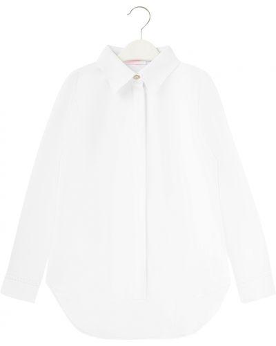 Блуза из вискозы белая Colabear