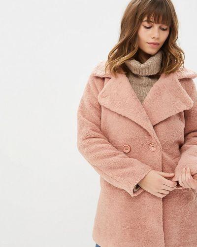 Розовая дубленка Grand Style