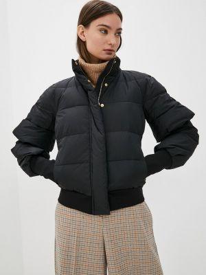 Утепленная куртка - черная Twinset Milano