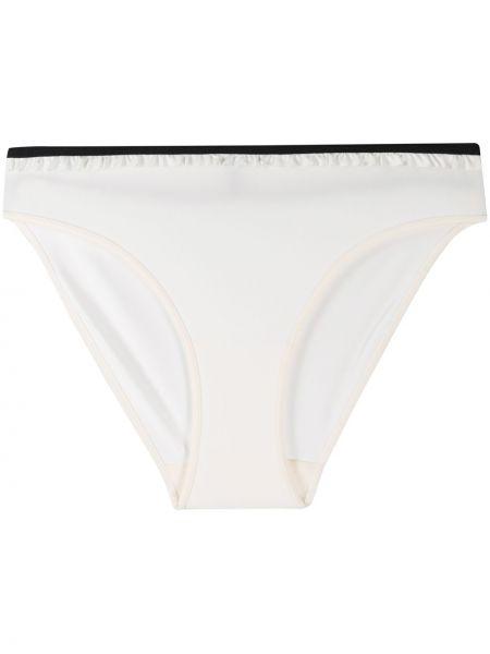 Белые трусы эластичные Marlies Dekkers
