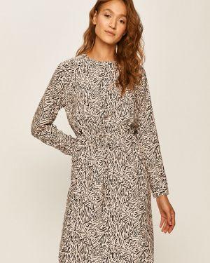 Sukienka midi z długimi rękawami na co dzień z wiskozy Levi's
