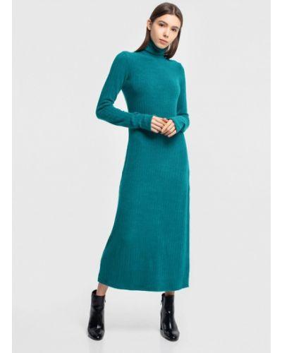 Платье осеннее зеленый Grass