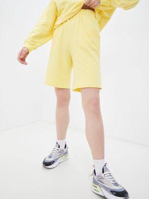 Желтые шорты летние Sport Angel