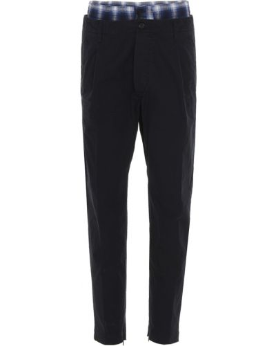 Szare spodnie Dsquared2