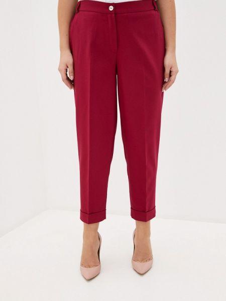 Классические брюки бордовый весенний Intikoma