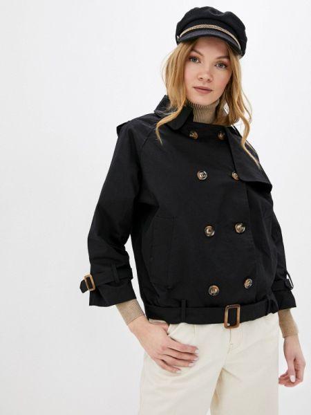 Куртка черная весенняя Fresh Cotton