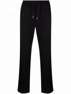 Czarne spodnie z wiskozy Sandro Paris