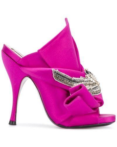 Мюли розовый N21