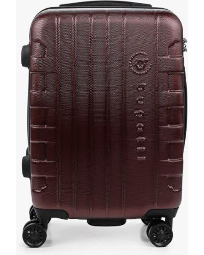 Красный чемодан Bugatti