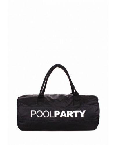 Спортивная сумка черный Poolparty