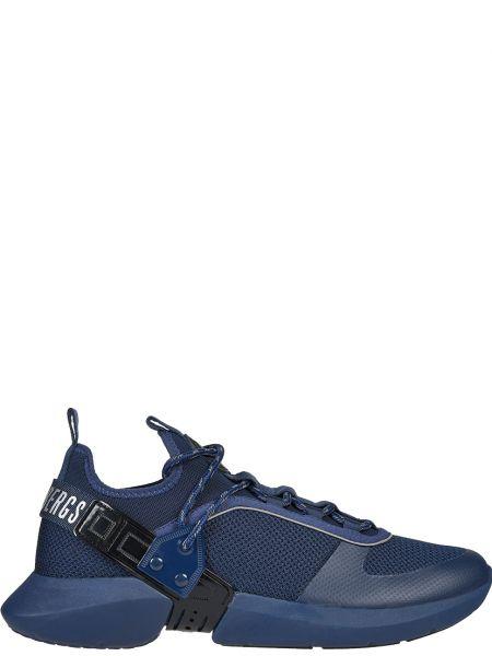 Текстильные кроссовки - синие Bikkembergs