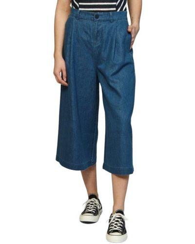 Niebieskie spodnie Denham