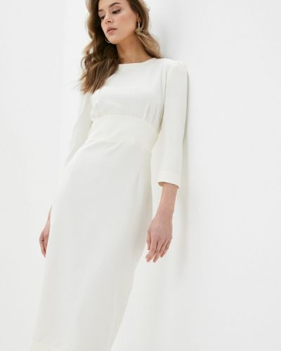 Белое платье-футляр Trendyangel