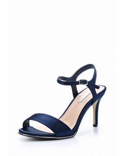 Синие босоножки на каблуке Dorothy Perkins