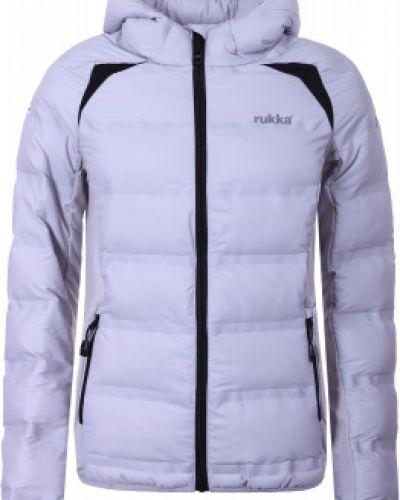 Утепленная куртка с капюшоном спортивная Rukka