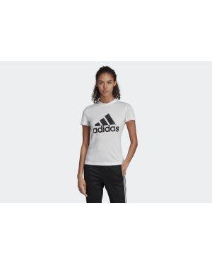 Białe polo bawełniane krótki rękaw Adidas