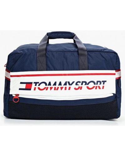 Дорожная сумка нейлоновая синий Tommy Sport