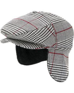 Czarna czapka z wiskozy Colorichiari
