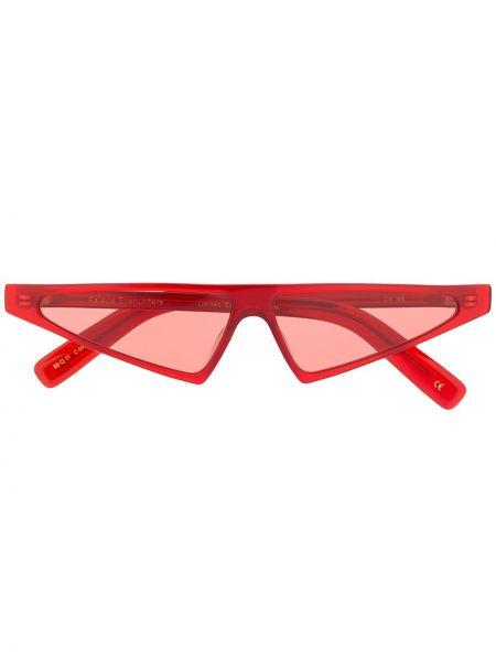 Муслиновые солнцезащитные очки хаки Kaleos